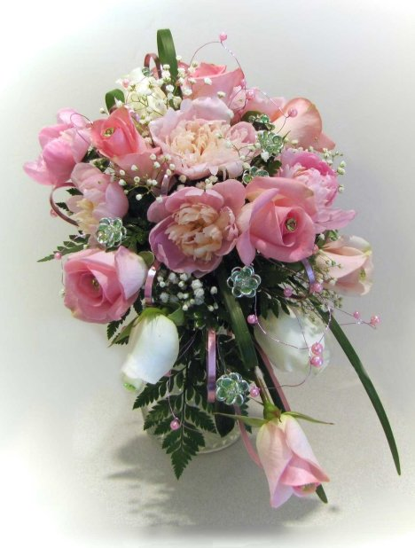 diy wedding flowers bouquets photo - 1