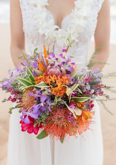 eco flower wedding photo - 1