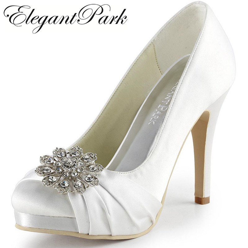 elegantpark wedding shoes photo - 1