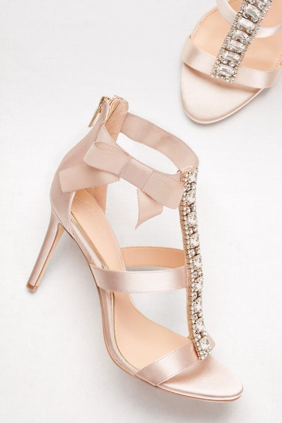 embellished wedding shoes photo - 1
