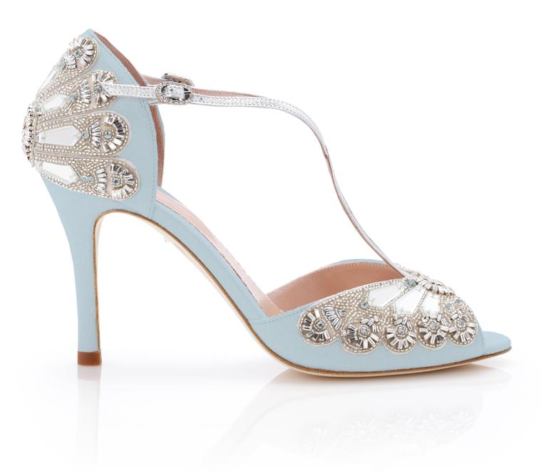 emmy london bridal shoes photo - 1
