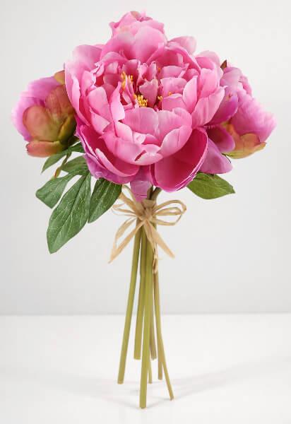 fake flower wedding bouquets photo - 1
