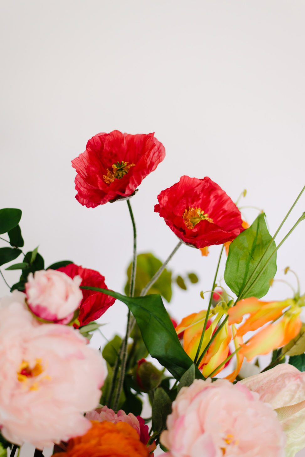 fake flowers for wedding bouquets photo - 1