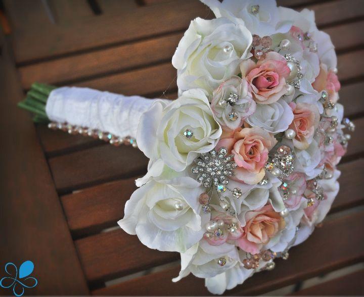 fake wedding bouquets photo - 1