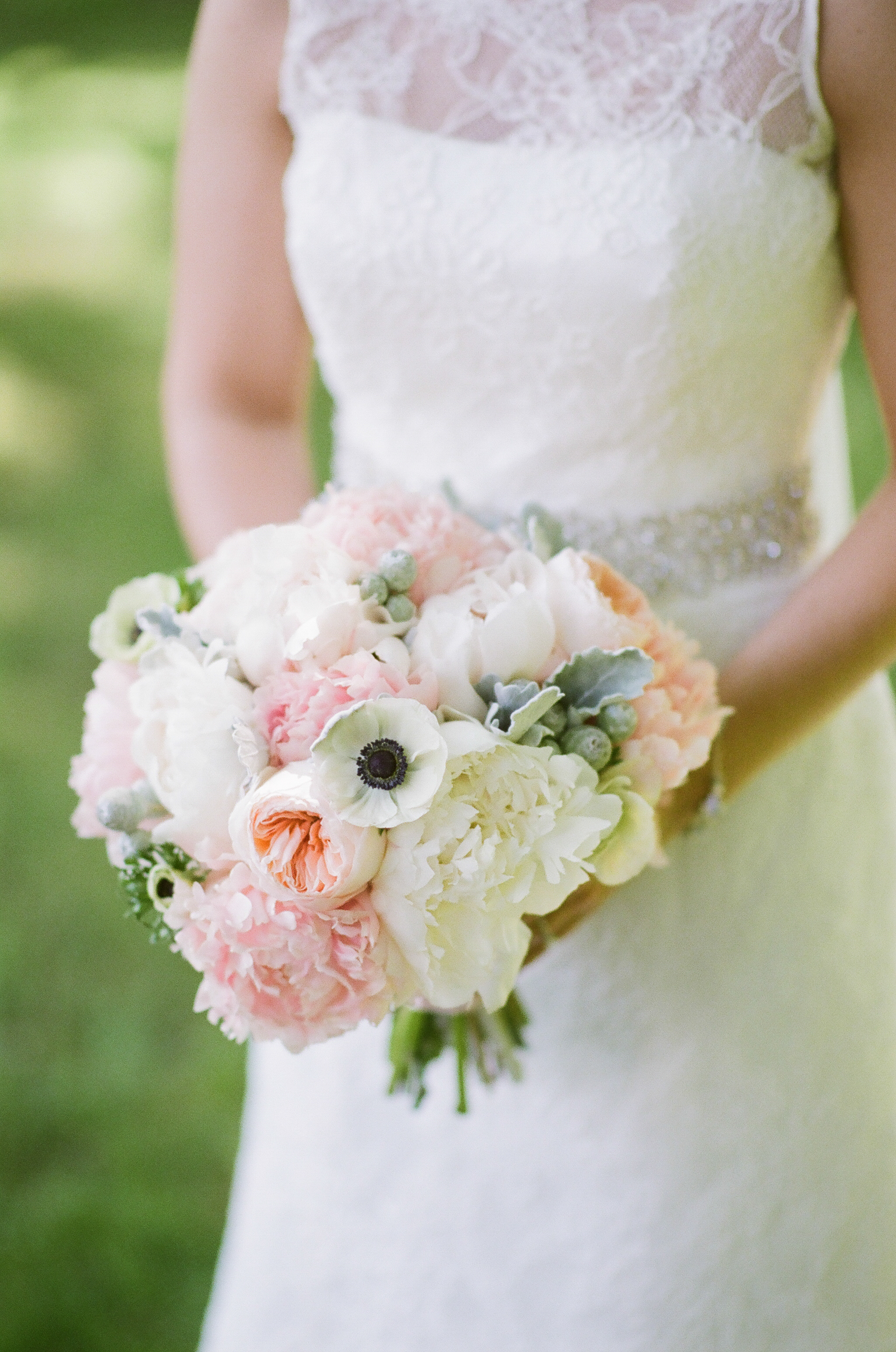 fall roses wedding bouquets photo - 1