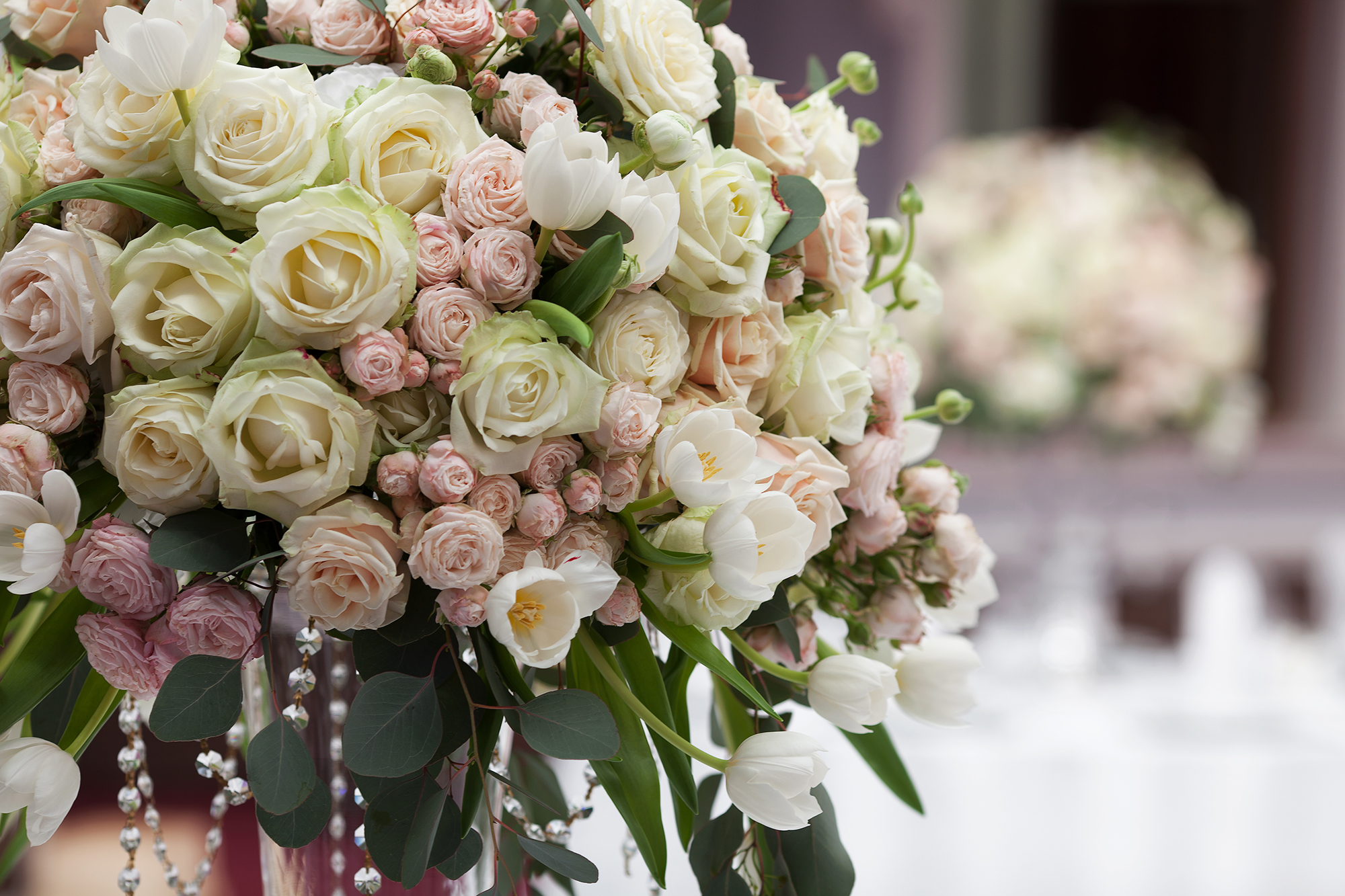 floral bouquets wedding photo - 1