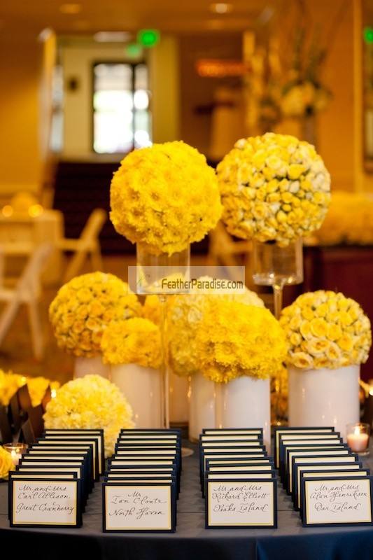 flower balls for wedding centerpieces photo - 1