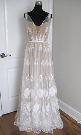 flower dresses for wedding photo - 1