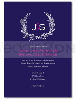 flower wedding invitations photo - 1