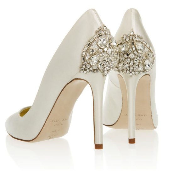 freya rose wedding shoes photo - 1