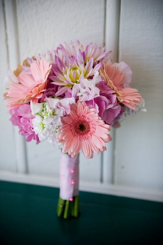 gerber daisy wedding bouquets photo - 1