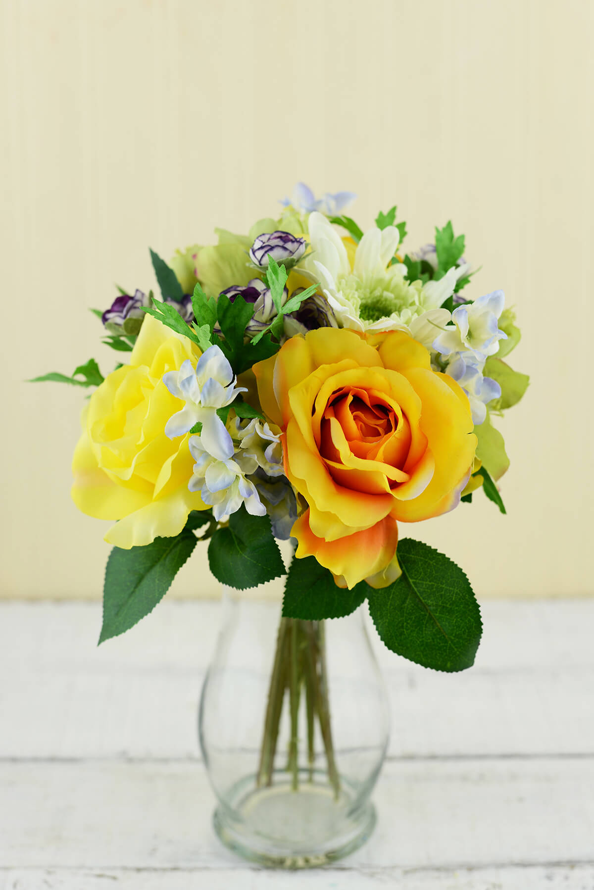 gerbera daisy and rose wedding bouquets photo - 1