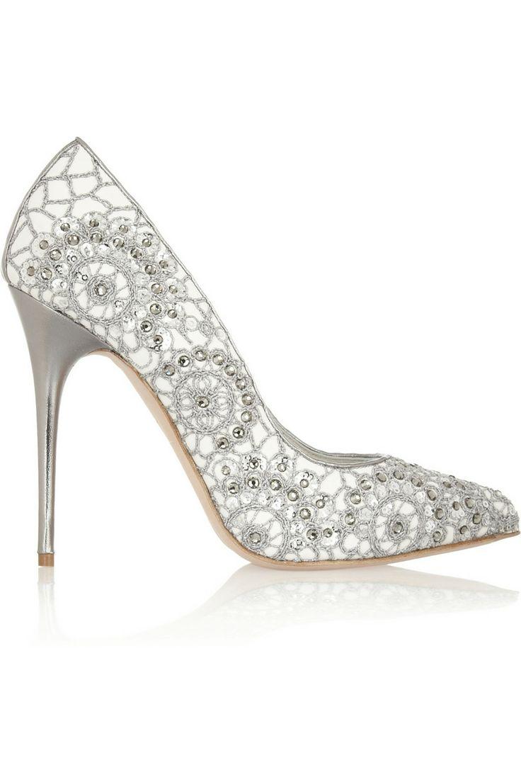 glamour wedding shoes photo - 1