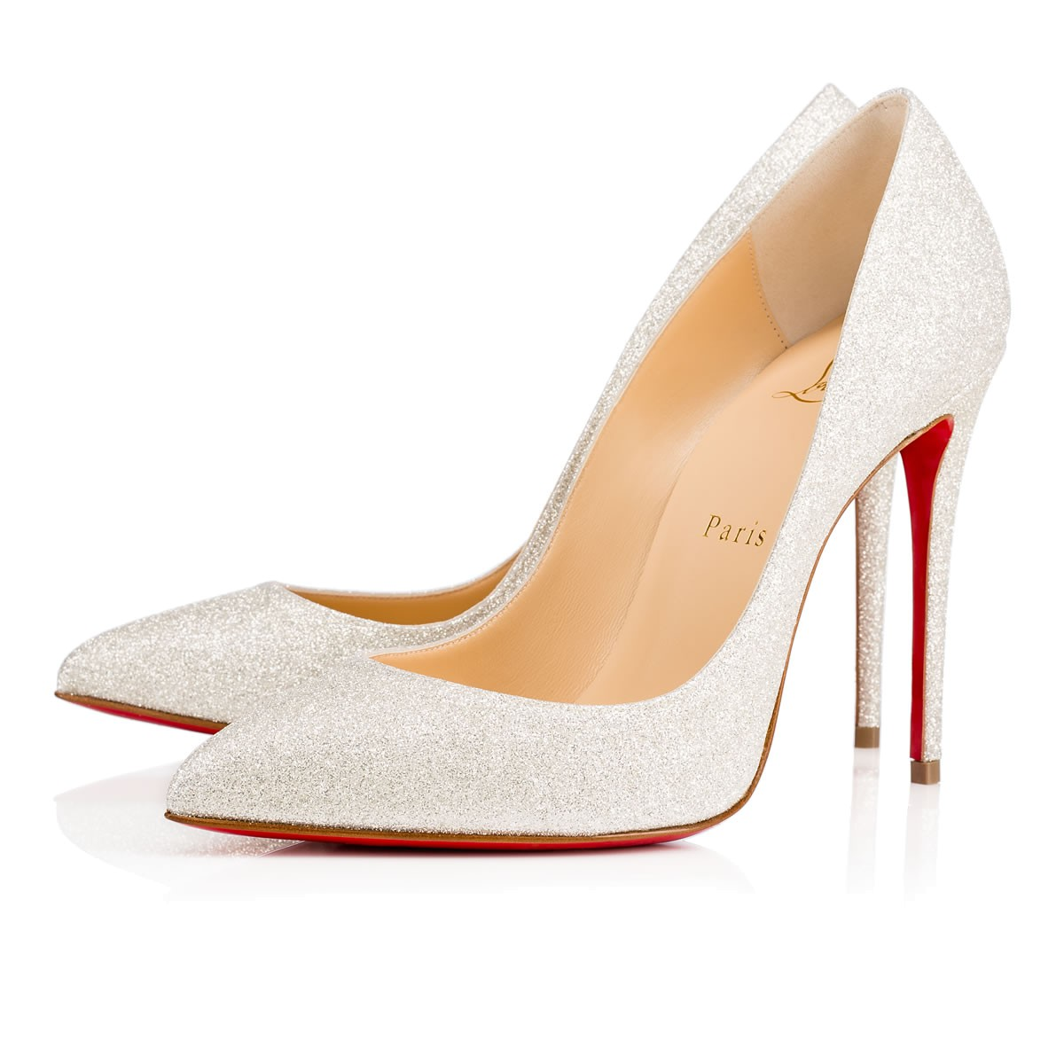 glitter wedding shoes photo - 1