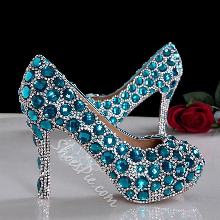 glitzy wedding shoes photo - 1