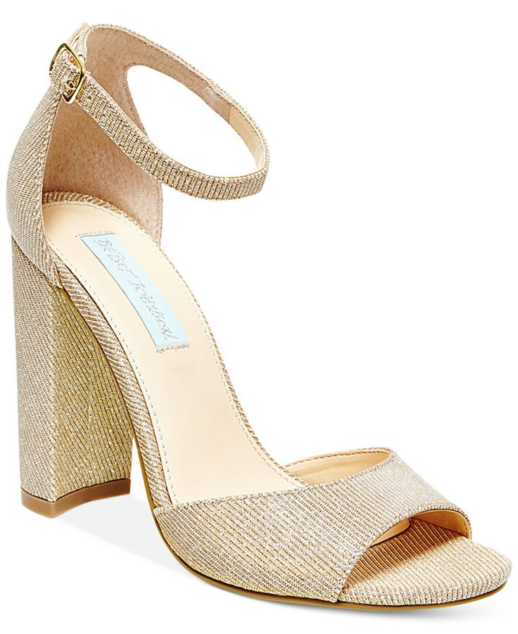 gold bridal shoes photo - 1
