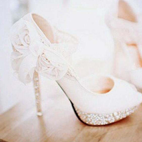 harriet wilde wedding shoes photo - 1