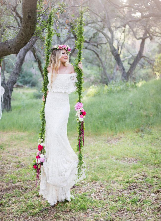 hippie wedding shoes photo - 1