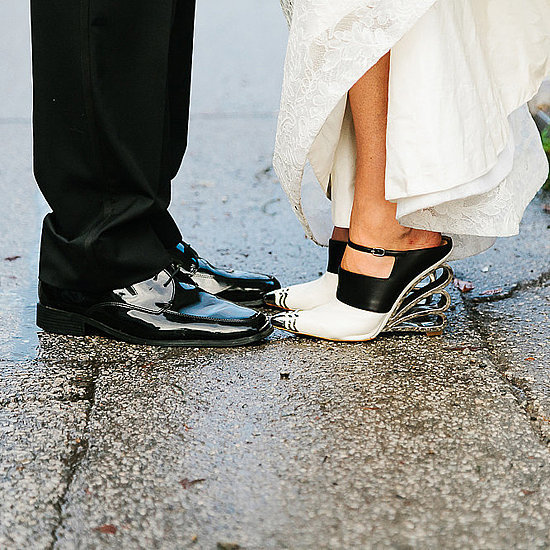 how to break in wedding shoes photo - 1