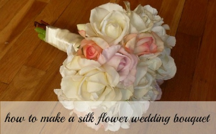 how to make flower bouquet for wedding photo - 1
