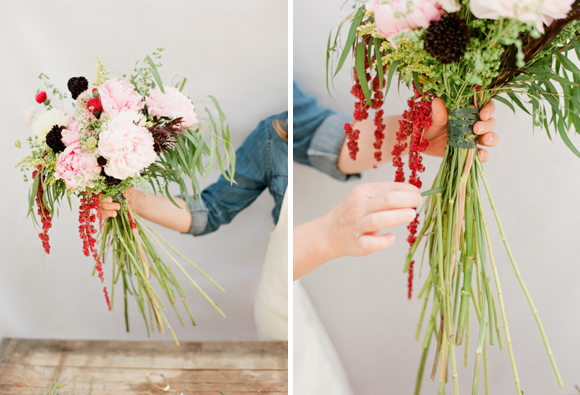 how to make your own wedding bouquet photo - 1