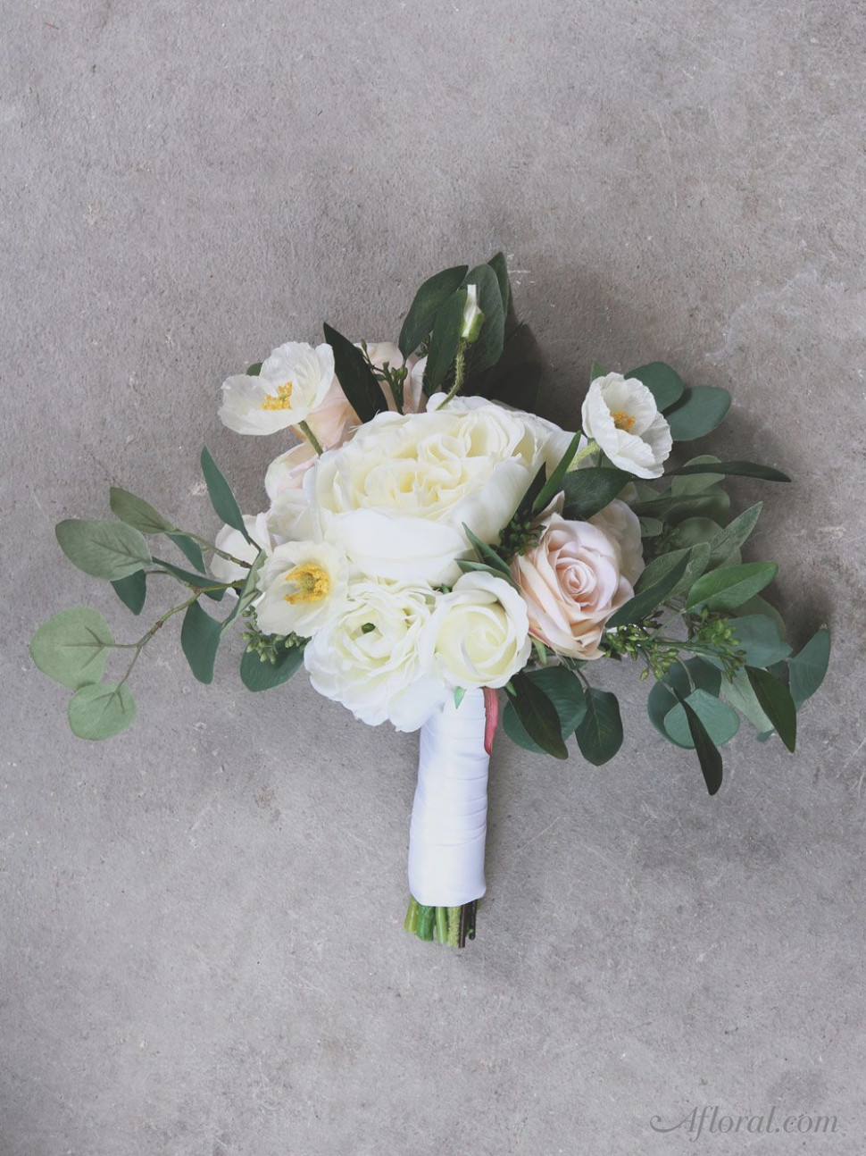how to make your own wedding bouquets with silk flowers photo - 1