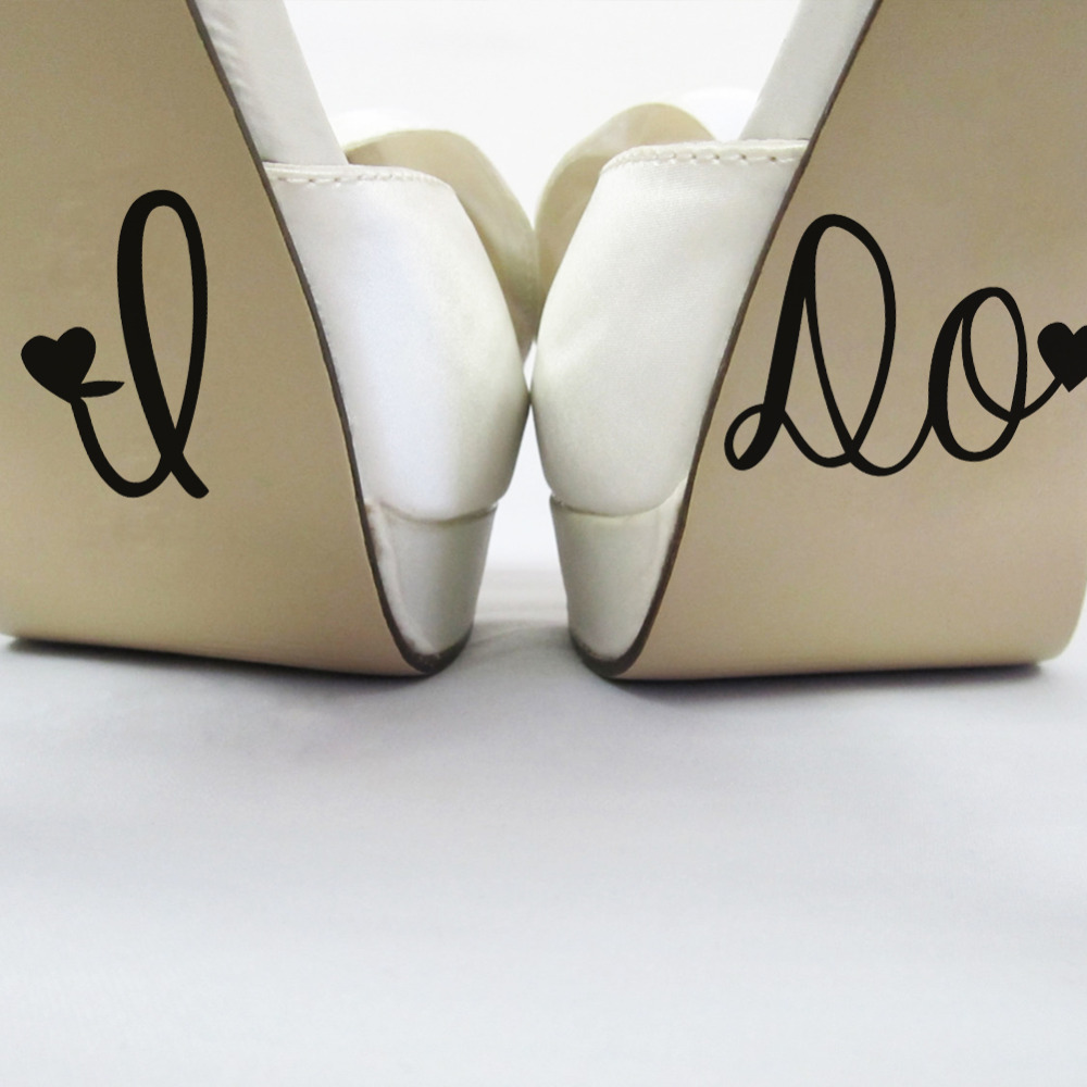 i do stickers for wedding shoes photo - 1