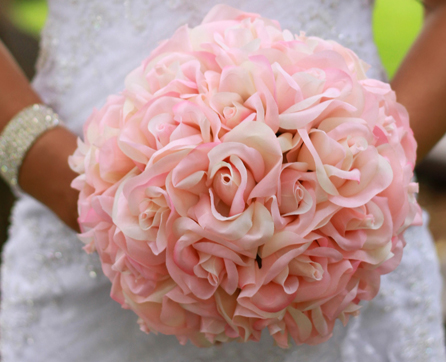 inexpensive silk wedding bouquets photo - 1