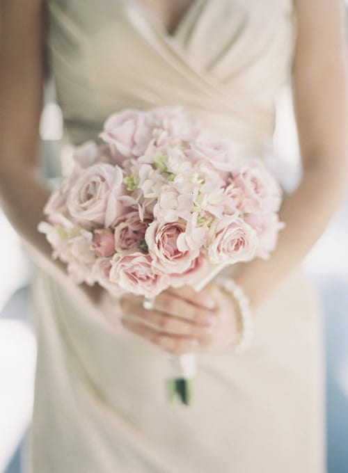 january wedding flowers photo - 1
