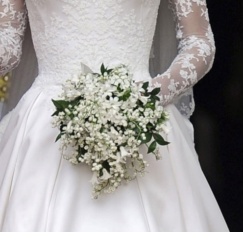 kate middleton wedding bouquet photo - 1