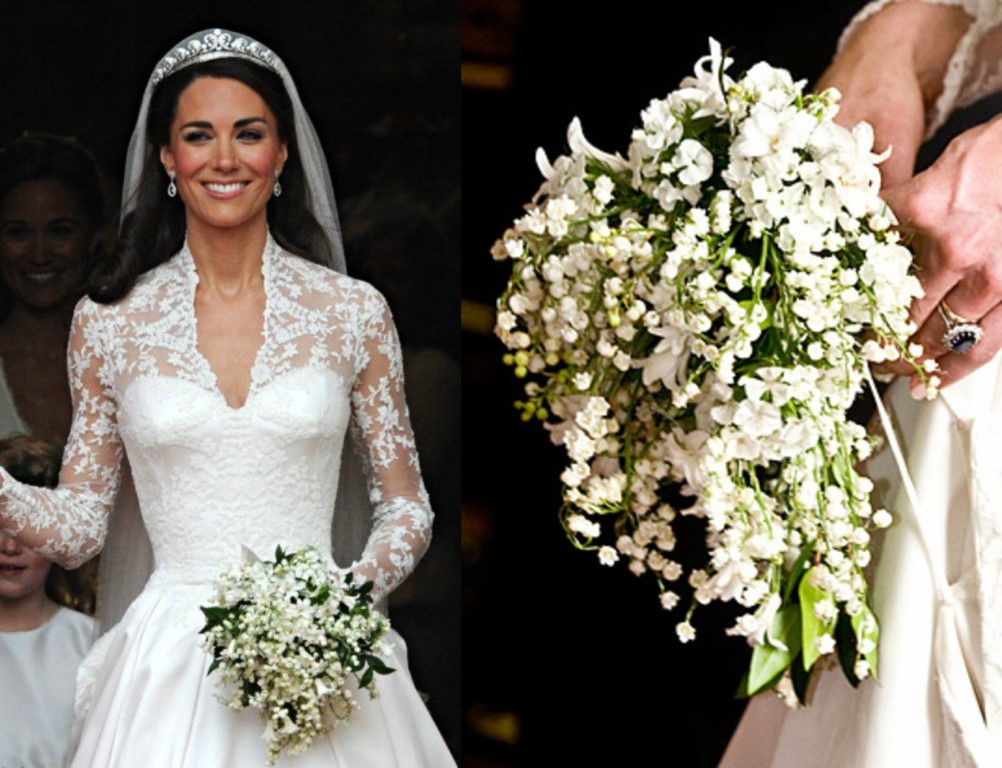 kate middleton wedding bouquets photo - 1