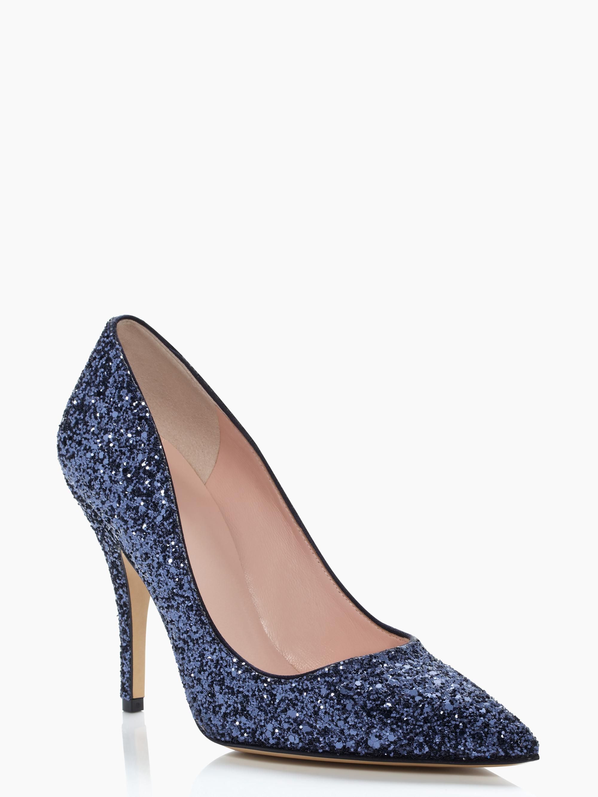 kate spade blue wedding shoes photo - 1