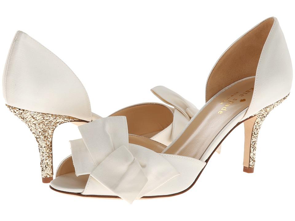 kate spade bridal shoes photo - 1