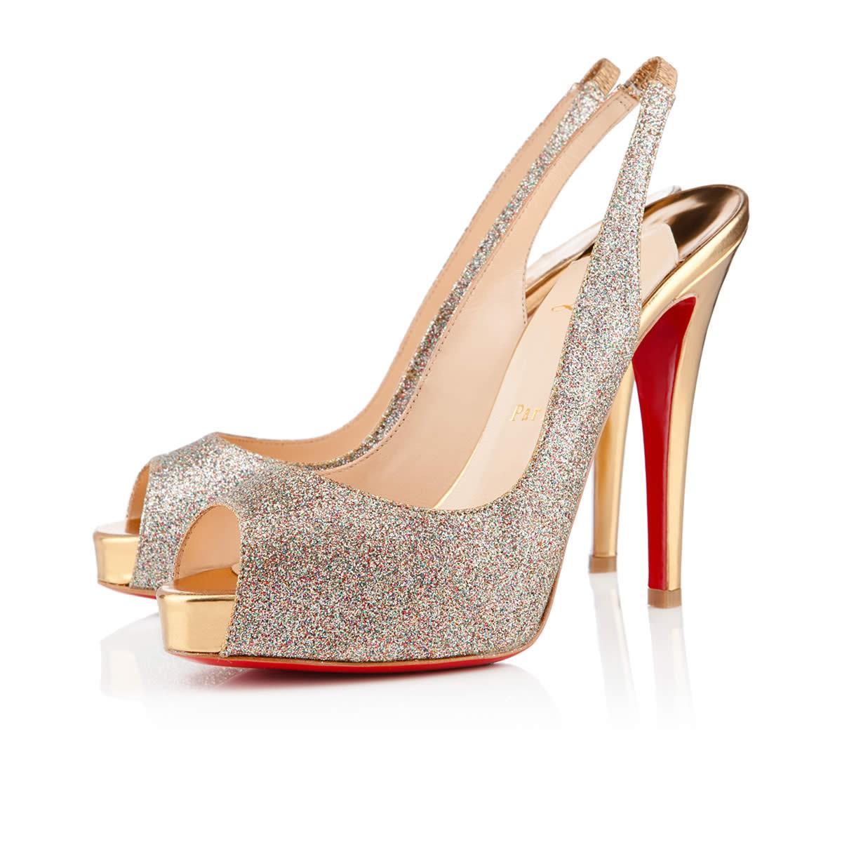 laboutin bridal shoes photo - 1