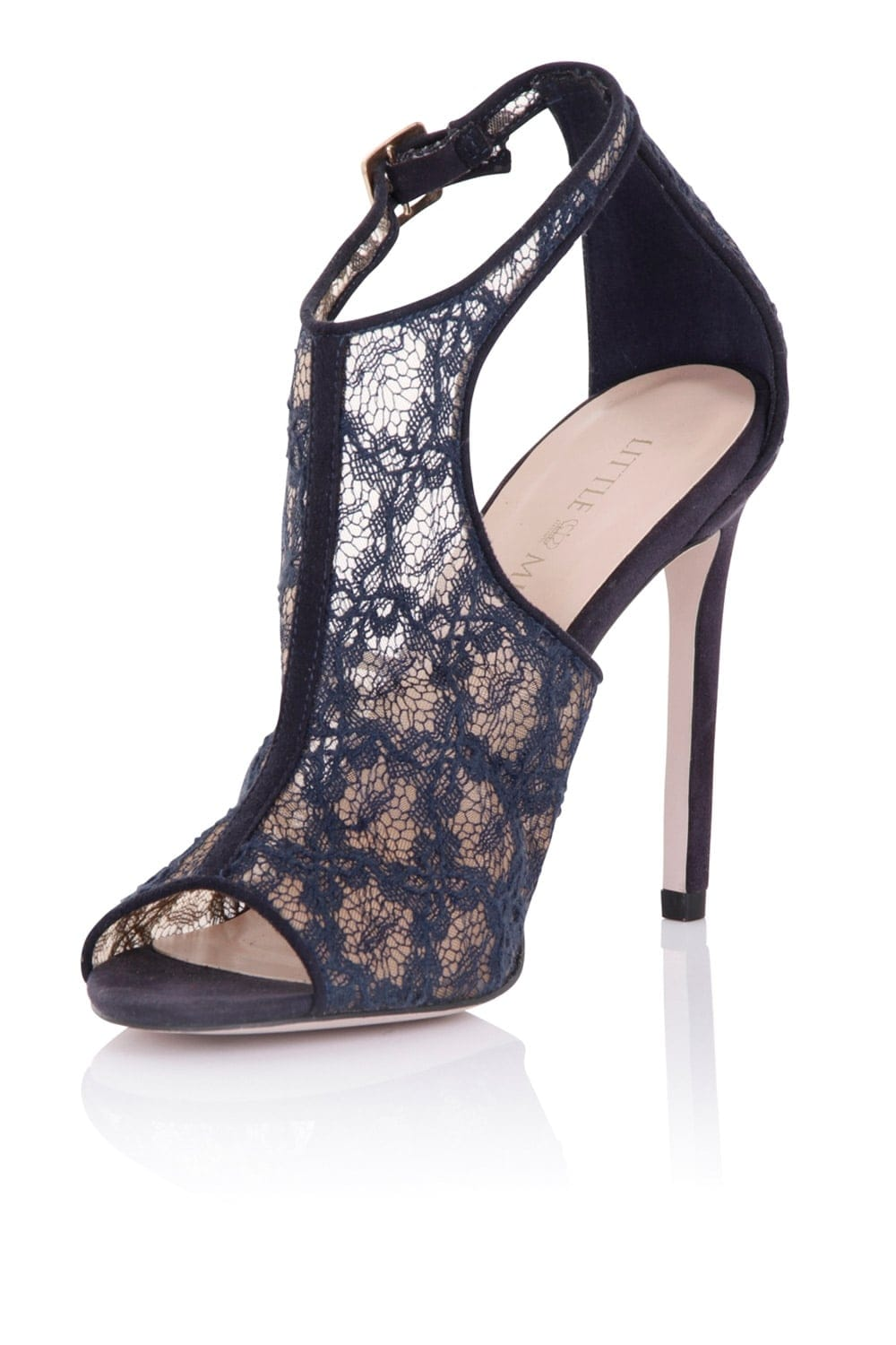 lace shoes for wedding photo - 1