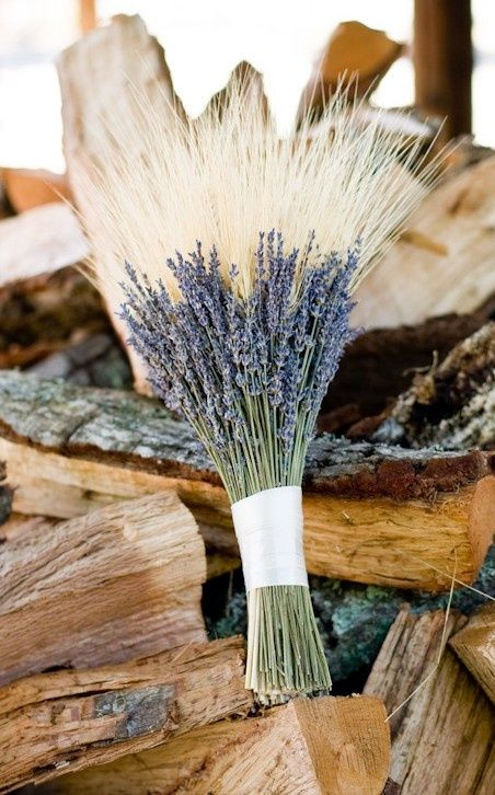 lavender wedding flowers photo - 1
