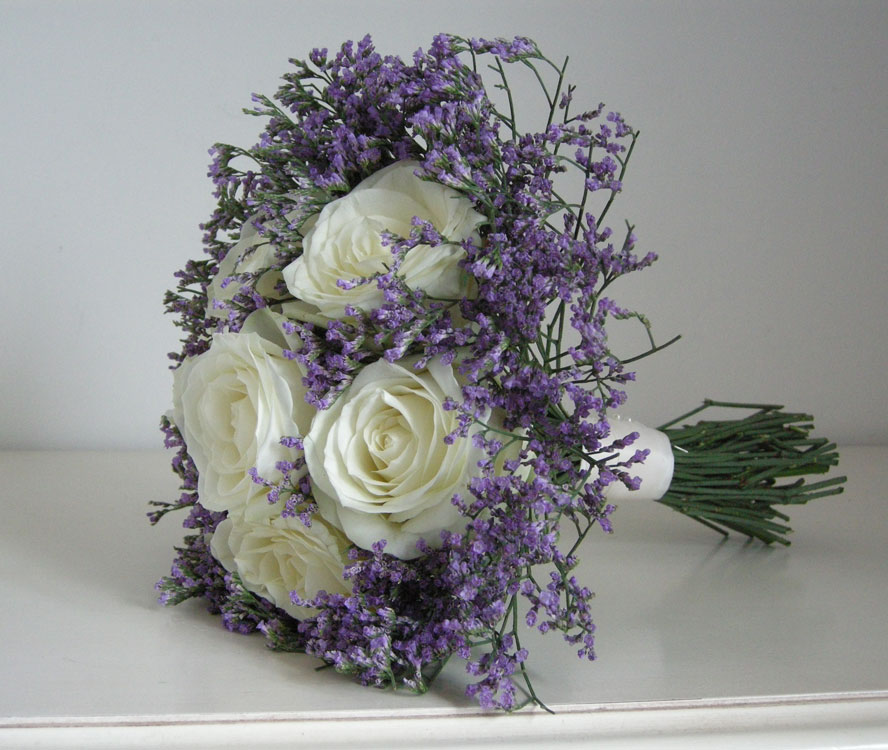 lilacs wedding flowers photo - 1
