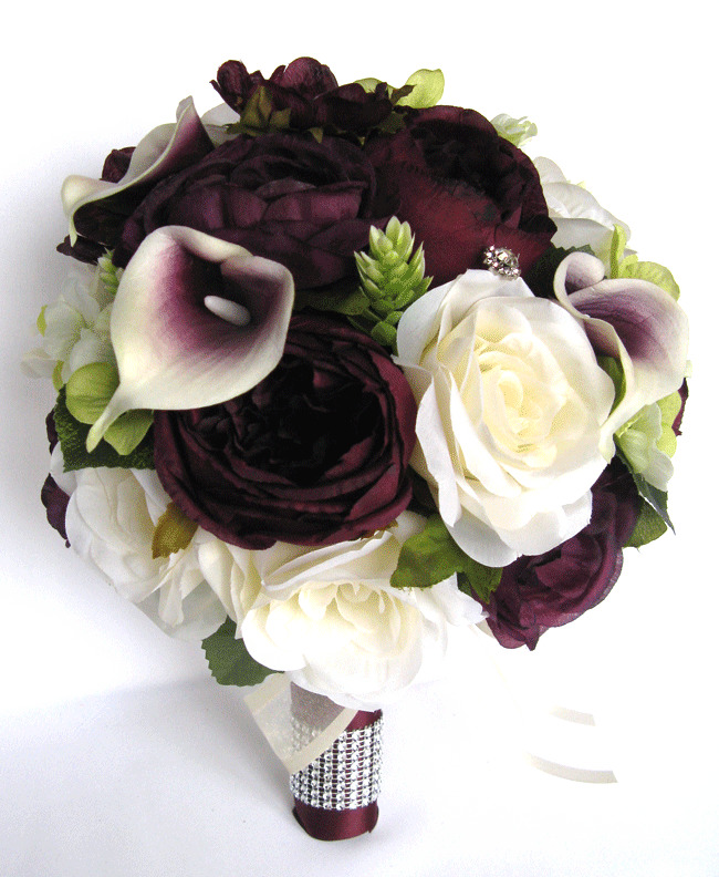 lily of the valley wedding bouquet photo - 1