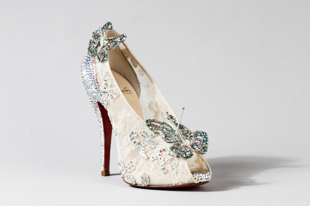 louboutin wedding shoes for sale photo - 1