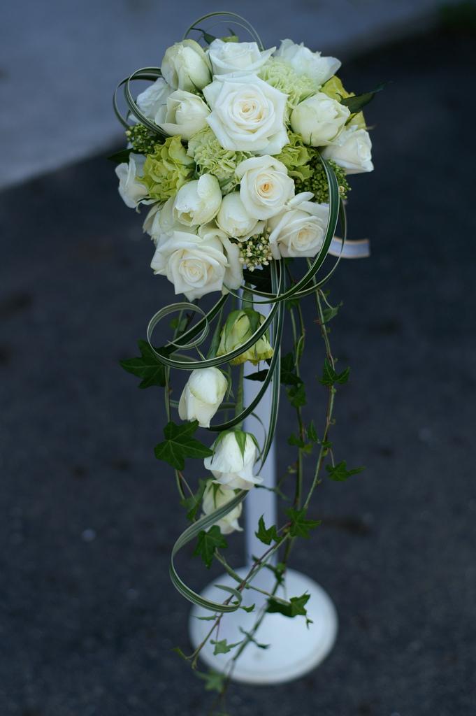 making your own silk flower wedding bouquets photo - 1