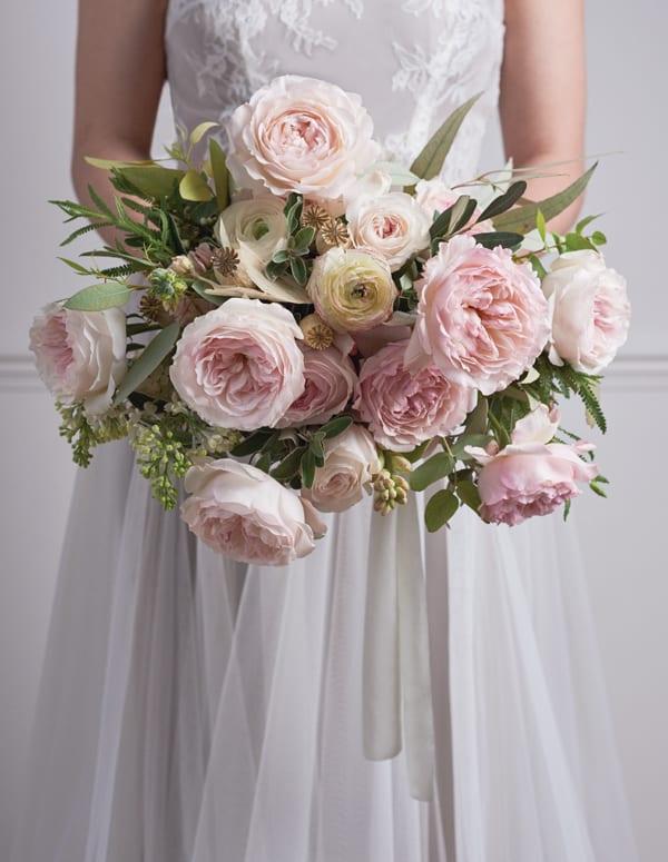 marsala wedding flowers photo - 1