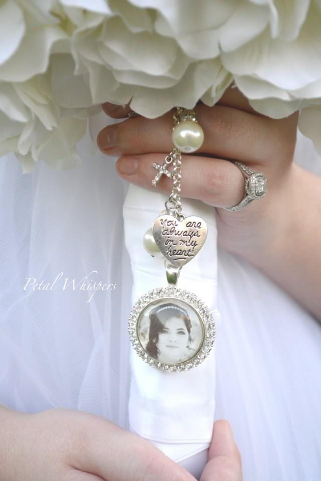 memorial charms for wedding bouquet photo - 1