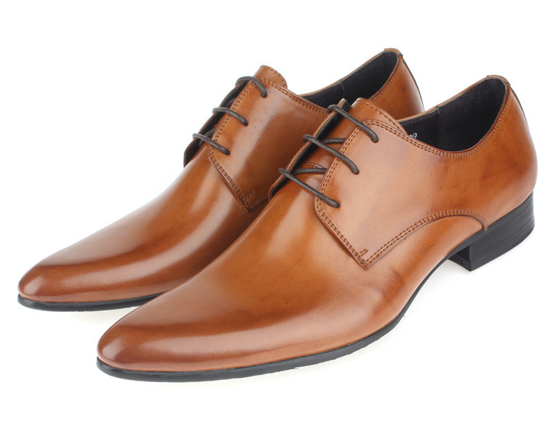 mens brown wedding shoes photo - 1