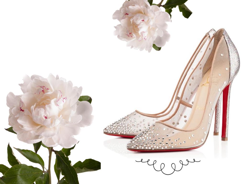 miu miu bridal shoes photo - 1