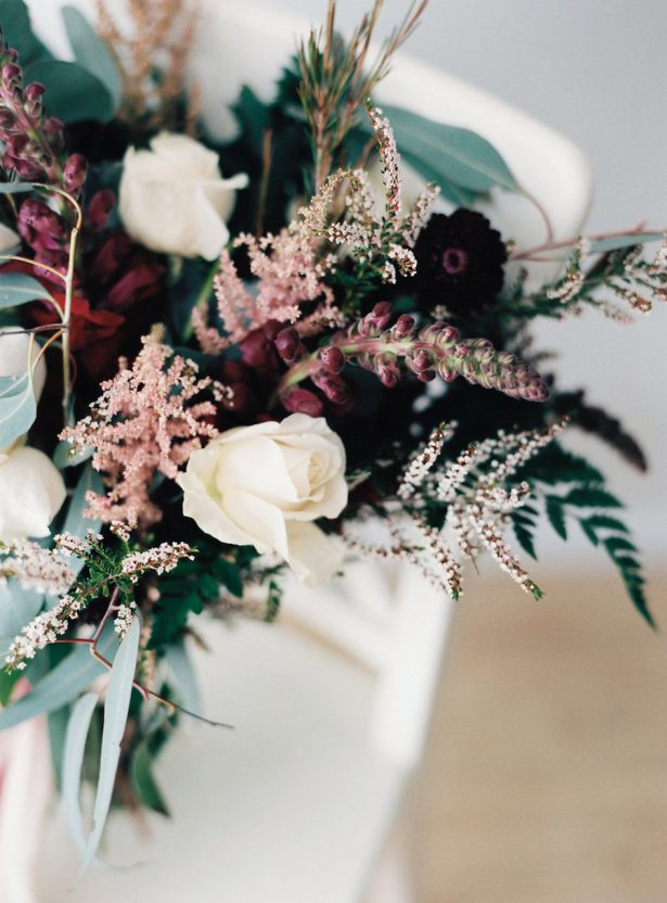 mixed flower wedding bouquets photo - 1