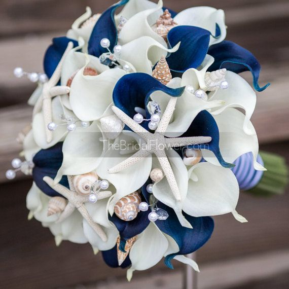 nautical wedding bouquets photo - 1