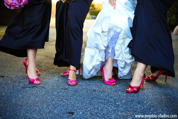 navy wedding shoes for bride photo - 1