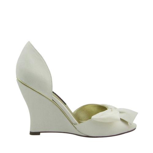 nina wedge wedding shoes photo - 1