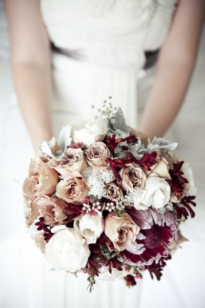 october wedding bouquets photo - 1