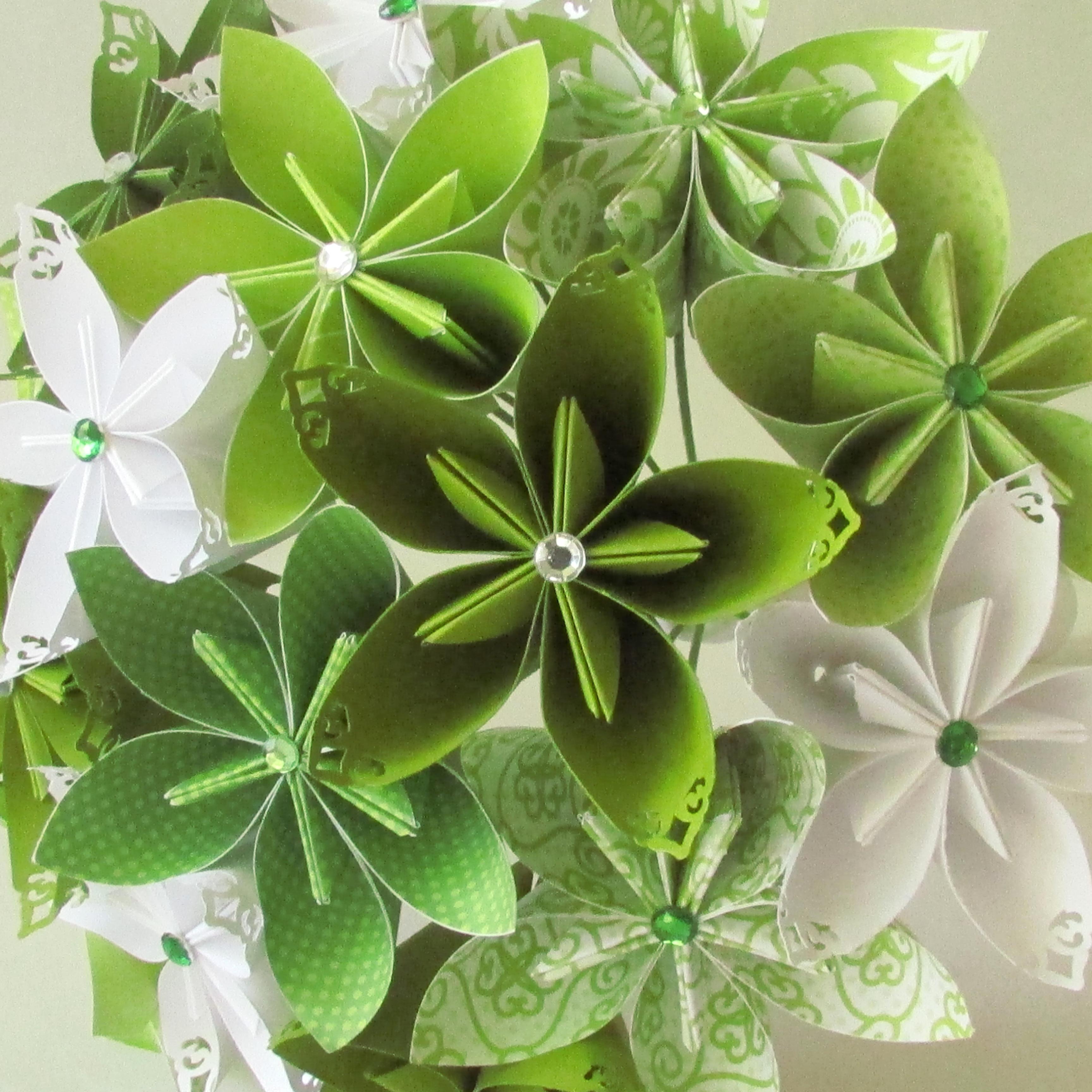 origami wedding flowers photo - 1